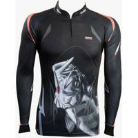Camiseta De Pesca Black Monster Brk - Masculino ae4449b489261