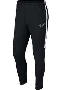 Calça Infantil Nike Dry Fit Academy Preto/Branco - M