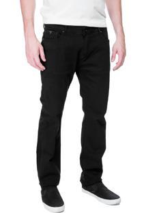 Calça Jeans Guess Masculina Slim Straight Preta - 26422
