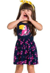 Vestido Infantil Kyly Meia Malha 110023.6826.1