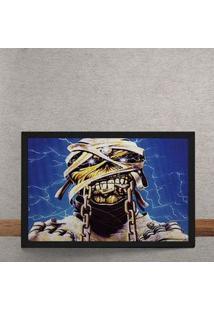 Quadro Decorativo Iron Maiden Ed Hunter Mumia 25X35