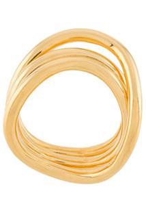 Sapir Bachar Anel Wave - Dourado