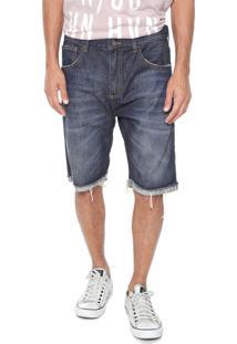 Bermuda Jeans John John Reta Olimpia Azul - Kanui