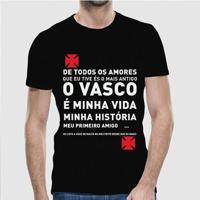 12676cf152 Camiseta Vasco Meu Amor Masculina - Masculino