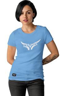 Camiseta Feminina Cellos Street Premium W Azul Claro - Kanui