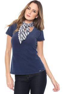 Camiseta Dimy Lisa Azul