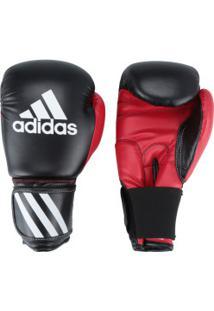 Luvas De Boxe Adidas Response - 10 Oz - Adulto - Preto/Vermelho
