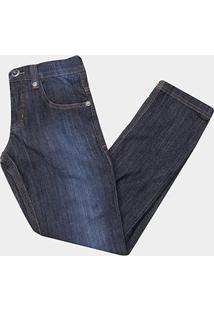 Calça Jeans Infantil O'Neill Estonada Masculina - Masculino-Azul