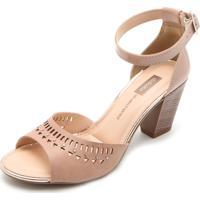 546892a16 Sandália Dakota Nude feminina | Shoes4you