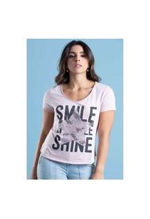 T-Shirt Its&Co Enjoy Rosa Mistic