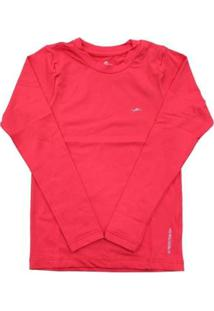 Camisa Infantil Elite Térmica Proteção Uv50 Masculina - Masculino
