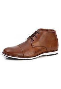Bota Sapato Brogue Premium Oxford Mocassim Casual Social Confort