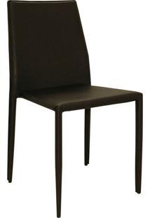 Cadeira Pvc Amanda-Rivatti - Marrom