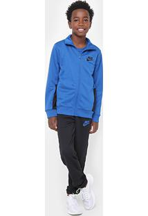 Agasalho Infantil Nike Nsw Trk Suit Pac Poly Masculino - Masculino