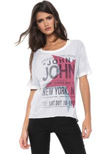 Camiseta John John Ny Star Azul