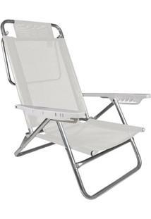 Cadeira Reclinável Summer Branca - Unissex
