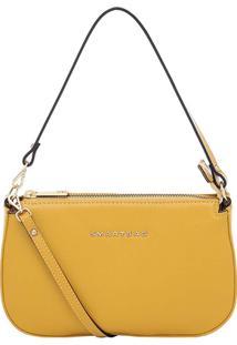 Bolsa Smartbag Transversal Couro - Feminino-Amarelo 0c90906f44f
