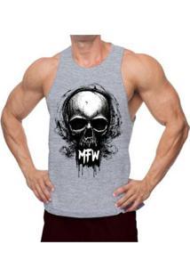 Regata Nadador Mfw Skull Masculina - Masculino