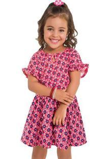 Vestido Infantil Kyly Meia Malha 109640.6826.3