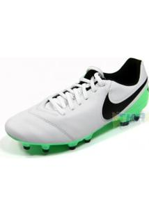 096c57c266 TKA Esportes. Chuteira Nike Genio 2.17 Tiempo Campo Pto Bco Vrd ...