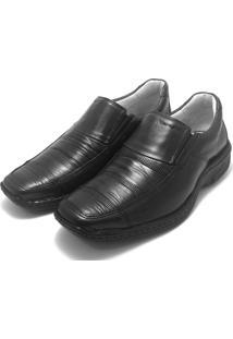 Sapato Social Mafisa Confort Preto