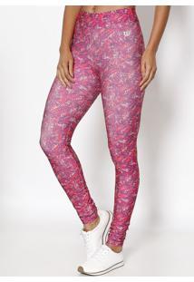 Legging Abstrata - Pink & Coralwilson