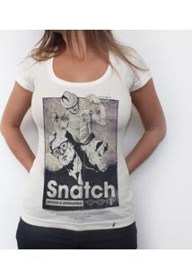 Snatch - Camiseta Clássica Feminina
