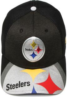 Boné New Era Pittsburgh Steelers Preto c8881cf5d2b