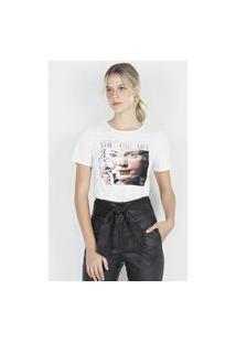 T-Shirt Com Bolsa Off White Off-White