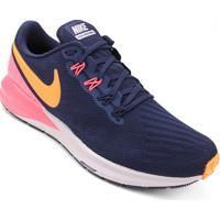 923160275a Tênis Nike Air Zoom Structure 22 Masculino - Masculino-Azul+Laranja