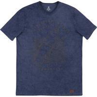 Camiseta Masculina Em Malha De Algodão Estonada Em Modelagem Slim 32dd26494da