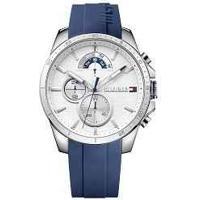 b6b2d7abc13 Vivara. Relógio Tommy Hilfiger Masculino Borracha Azul ...