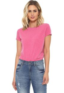 Camiseta Oh Boy Básica Rosa