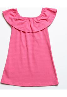 Vestido Infantil Ombro A Ombro Marisa