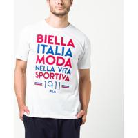 Camisetas Esportivas Fila Italiana  f1c7bd3facbd9