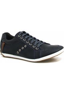 ea6115dea2 Sapatênis Zariff Shoes Casual Couro - Masculino-Azul