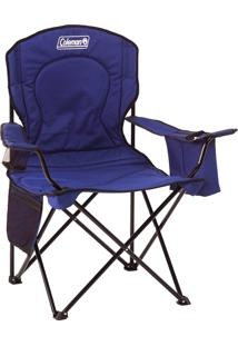 Cadeira Dobrável Com Cooler Térmico E Porta Copo Azul - Coleman
