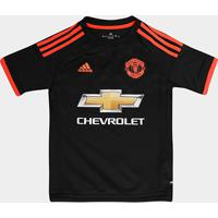 64ad49e030 Camisa Manchester United Infantil Third 15 16 S Nº Torcedor Adidas -  Masculino