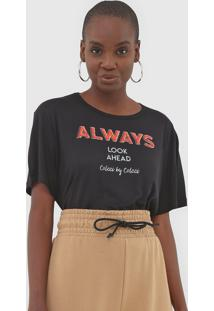 Camiseta Colcci Always Preta
