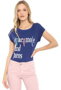 Camiseta Lez A Lez Guacamole Azul