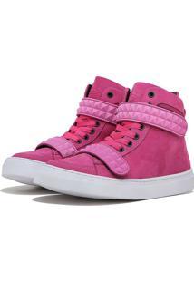 Sneaker K3 Fitness Skull Rosa - Rosa - Feminino - Dafiti