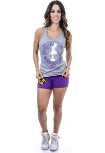 Camiseta California Sport Box Jump Cinza