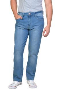 Calça Jeans Reta Cintura Média Yck'S