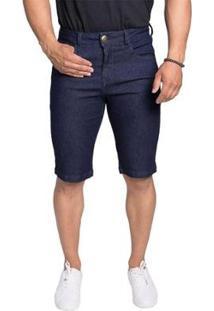 Bermuda Jeans Osmoze Middle Z Masculina - Masculino-Azul
