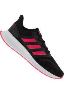Tênis Adidas Run Falcon - Feminino - Preto/Rosa Esc