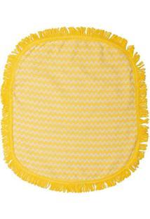 Jogo Para Banheiro Campestre- Amarelo & Bege- 3Pã§S