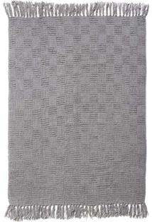 Manta Chenille Light Grey