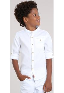 Camisa Texturizada Off White