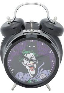 Relã³Gio Despertador Jokerâ®- Preto & Roxo- 17X11,8X5,Urban