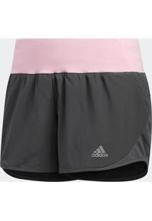 Short Adidas Run It Cinza